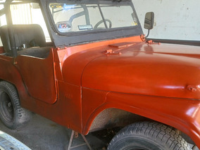 Jeep Ika 4x2 Corto De Chapa Mecánica Original