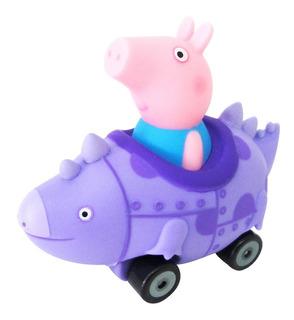 Juguete Autito Peppa Pig Con Amigos Original Babymovil