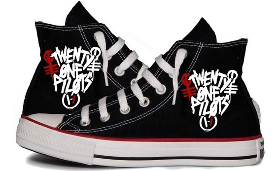 All Star Twenty One Pilots Banda Tênis Personalizado