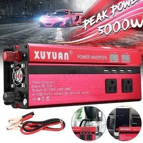 Inversor Xuyuan Red Pico 5000w 12v 110v 60hz Solar Fast