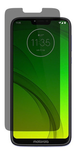 Mica Cristal Templado Privacidad Moto Z2 G5 G6 G7 Plus Play