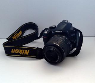 Camara Fotográfica Nikon D3100 Profesional