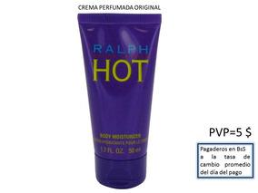Ralph Hot Crema Hidratante Corporal Perfumada Para Damas