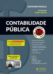 Contabilidade Pública 3d - 1ª Edição - 2018