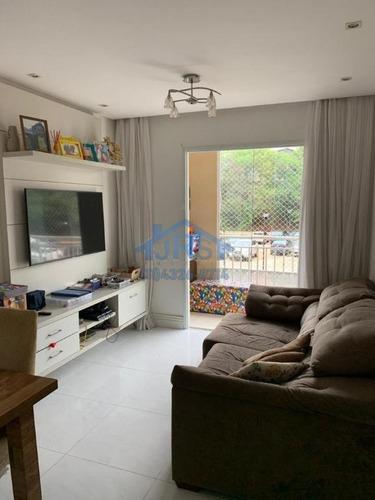 Apartamento Com 2 Dormitórios À Venda, 72 M² Por R$ 372.000,00 - Jardim Tupanci - Barueri/sp - Ap4161