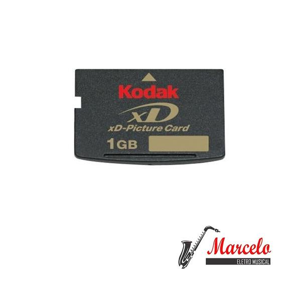 Cartão De Memória Kodak Card 1gb