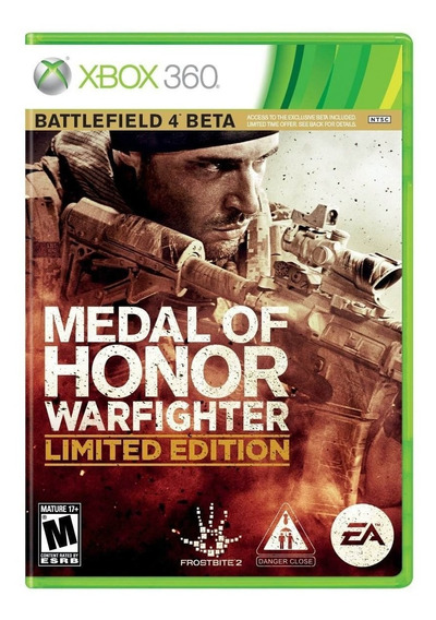 Medal Of Honor: Warfighter Limited Edition Xbox 360 Original