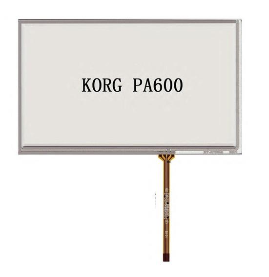 Tela Touch Do Teclado Korg Pa600 E Pa900 Frete Gratis
