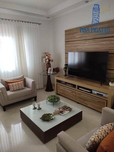 Imagem 1 de 20 de Casa À Venda, 250 M² Por R$ 1.350.000,00 - Condomínio Metropolitan Park - Paulínia/sp - Ca2490