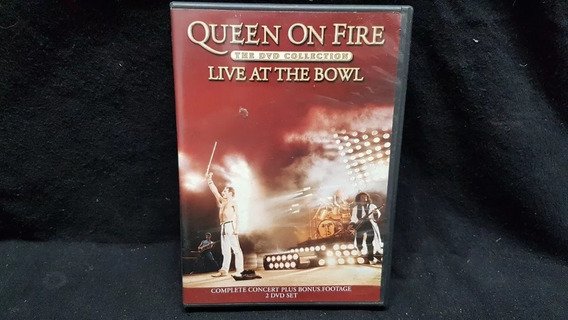 Queen On Fire - Live At The Bowl - Dvd Doble 5.1 Original