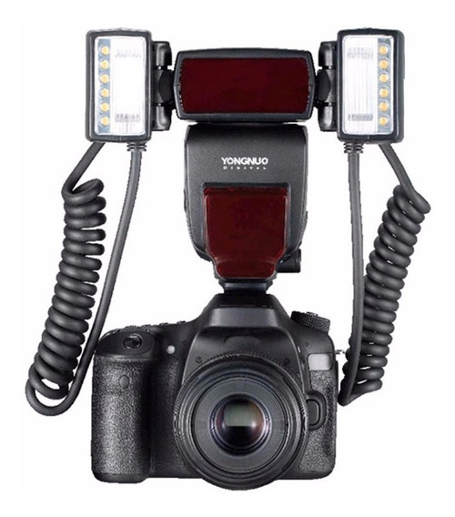 Flash Twin Yongnuo Yn-24c Para Canon Dentista C/ Nf