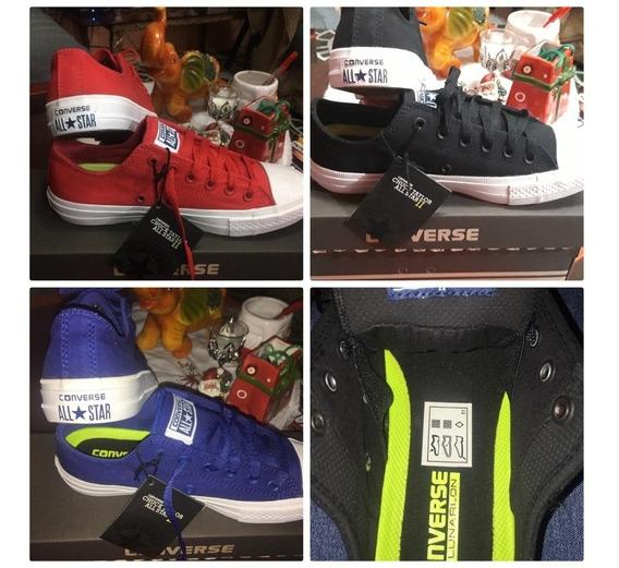 Zapatos Conversé Chuck Taylor 2 Lunarlon Plantilla Especial