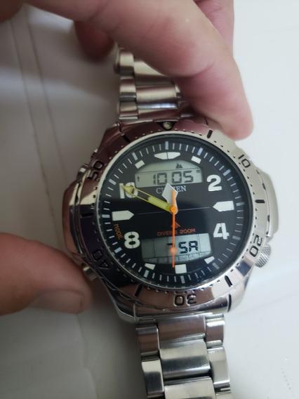 Relógio Citizen Aquamont Super Novo Aço Inox