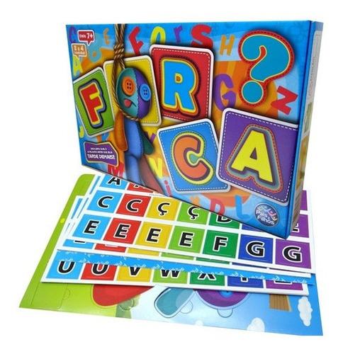 Imagem 1 de 7 de Jogo Da Forca Brinquedo Educativo Pedagógico 2 Tabuleiros