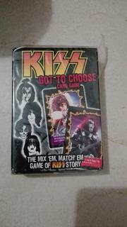 Kiss Got To Choose Juego De Cartas