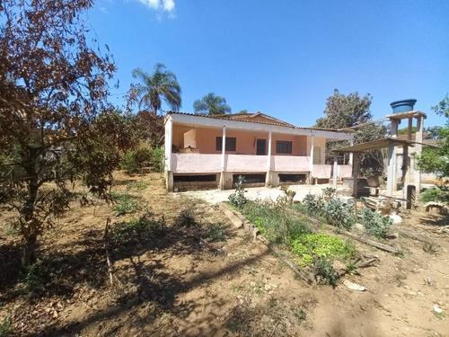 Imagem 1 de 30 de Ótima Chácara Com 3 Dormitórios, Rico Em Água, Lago E Nascente, Arborizada, Bem Localizada, À Venda, 5000 M² Por R$ 280.000 - Rural - Tuiuti/sp - Ch1011