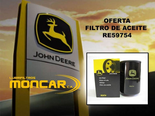 Re59754 Filtro Orignal Jhon Deere