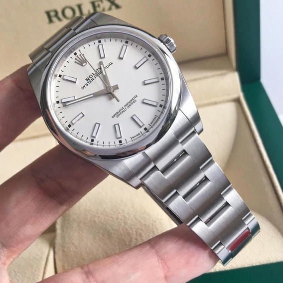 Rolex Oyster Perpetual 39 White 2019