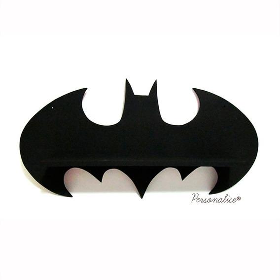 Prateleira Estante Batman Expositor Decoração Mdf
