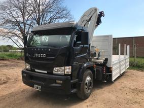 Camion Con Hidrogrua Iveco Vertis 130 V18