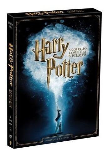 Harry Potter Coleção 8 Filmes Simples Dvds Originais