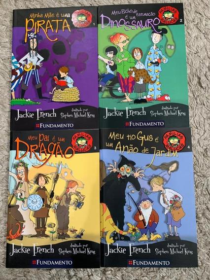 Série Famílias Malucas - Livros 1 Ao 4