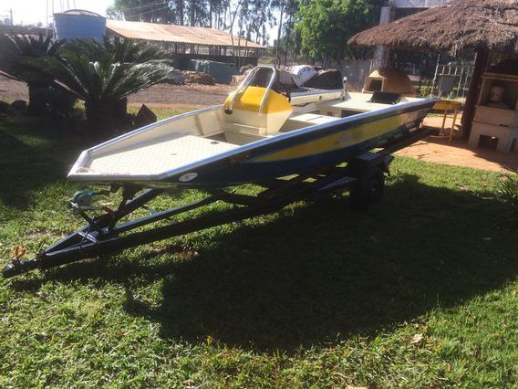Lancha Black Bass 5m Uai Nautica,motor 50hp Mercury, Carreta
