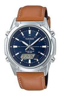 Reloj Casio Amw-s820l-2a Solar Agente Of Local Barr Belgrano