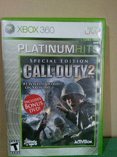 Call Of Duty 2 Special Edition Para Xbox 360