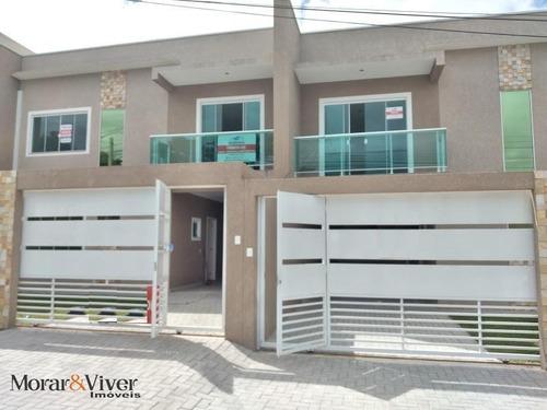 Sobrado Para Venda Em São José Dos Pinhais, São Pedro, 3 Dormitórios, 1 Suíte, 3 Banheiros, 2 Vagas - Sjp2338_1-1653674
