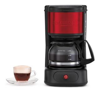 Cafetera Eléctrica Holstein 5 Tazas Roja