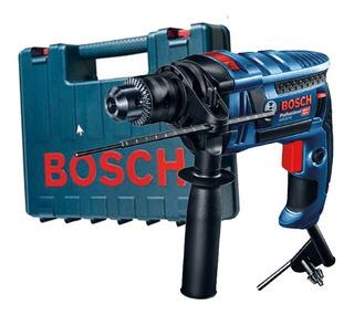 Furadeira Impacto Gsb 16re 750w + Maleta Bosch