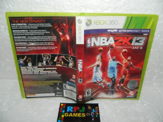Nba 2k13 Original Midia Fisica Completa P/ Xbox 360 - Loja