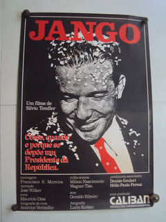 Cartaz Jango Poster Filme Fotografia Foto Lobbycard
