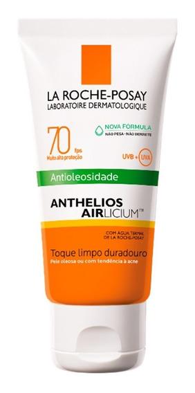 Protetor Solar Facial La Roche-posay - Anthelios Airlicium Fps 70 50g