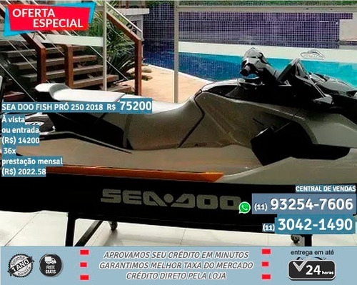 Sea Doo Fish Pró 250