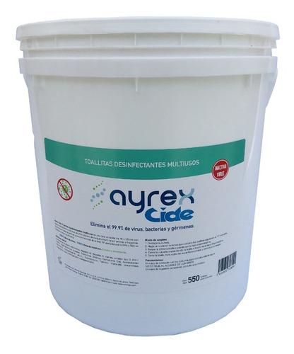 Toallitas Desinfectantes Multiusos Ayrex Cide