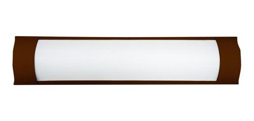 Luminaria Linear Sl1061333 Fina 18w 6000k Marrom Skylux