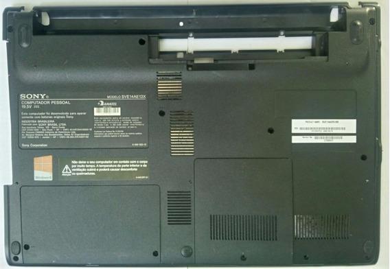 Carcaça Chassi Inferior Sony Vaio Sve14ae13x -usado