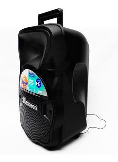 Bafle Recargable Con Tecnología True Wireless 8 Pulg Led Rgb
