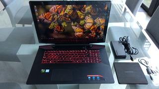 Laptop Lenovo Ideapad Y700-17isk, 32gb Ram, M2 512g, Ssd 1tb