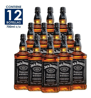 Whisky Jack Daniels Old No. 7 De 700ml. Cj 12pzas.