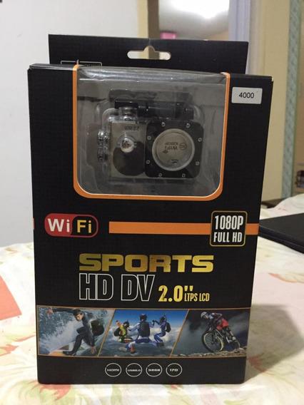 Camera Esportiva Hd Dv 2.0 1080 P Capacete-moto-carro Usado