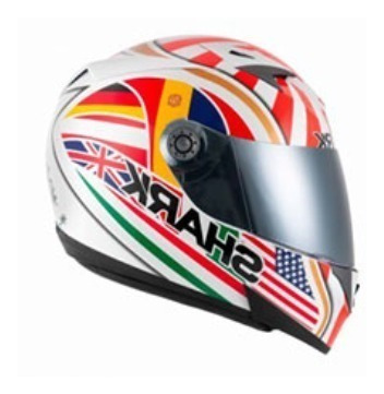 Capacete Shark S700-s Zarco Special Edition | Wor | 60