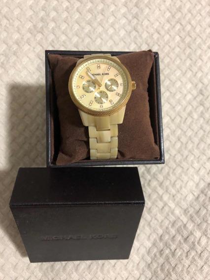 Relógio Mikael Kors Mk5039 Madrepérola Na Caixa