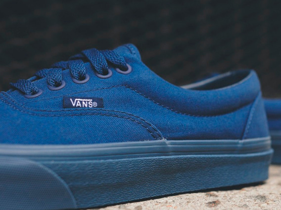 Tenis Vans Originales Era Tonal Estate Blue Azul Vino