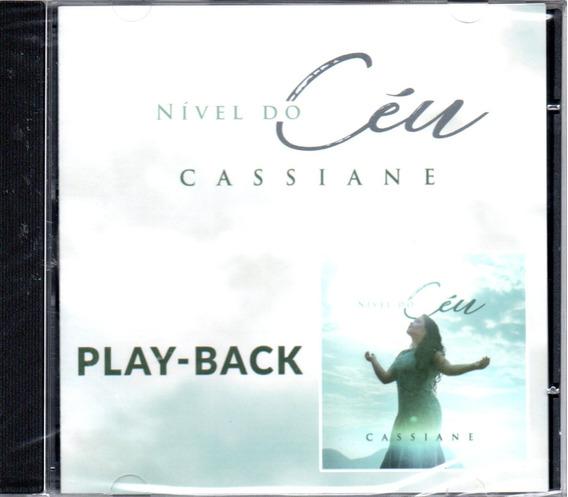 Cd Cassiane - Nível Do Céu Em Playback