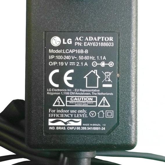 Carregador Notebook Lg Gram 15z970 Ultra Slim Lcap16b-b Orig