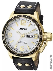 Relógio Magnum Masculino Dourado - Ma31542b