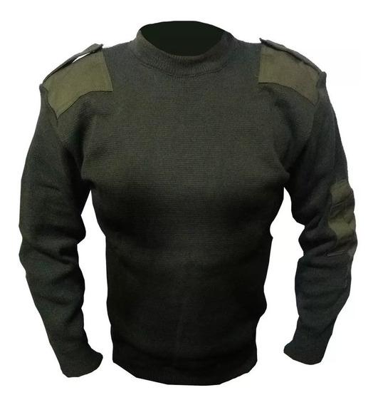 Pullover Cuello Redondo - Tricota Policial Fajina Prefectura